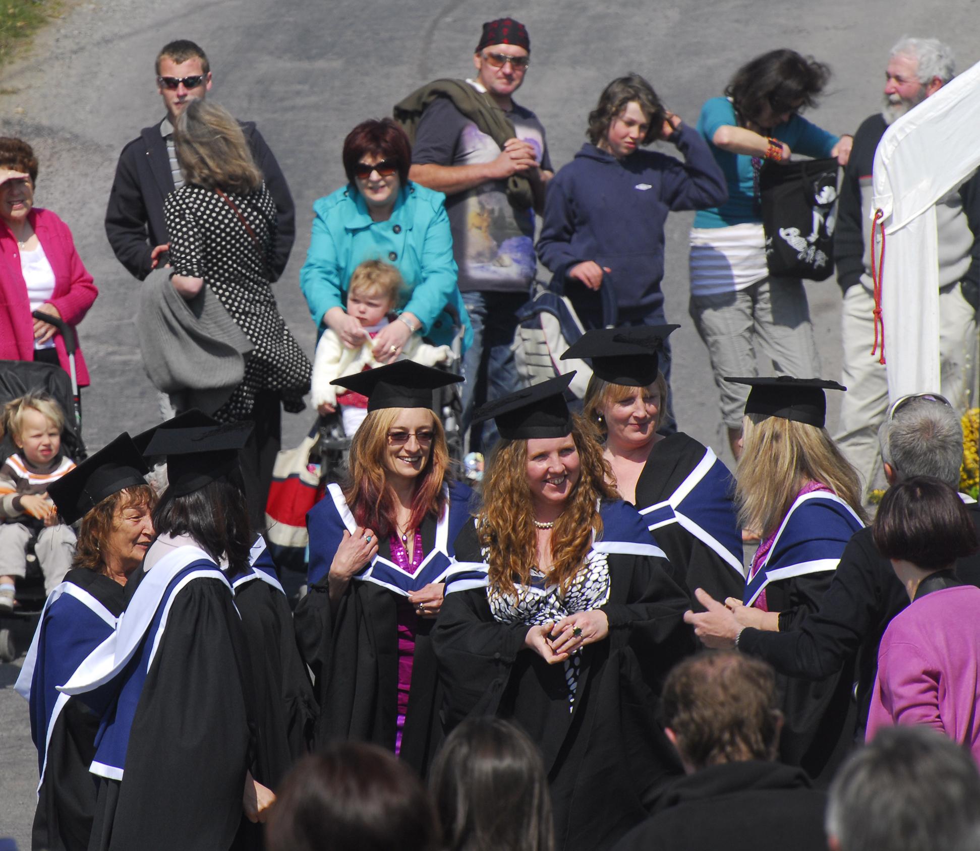 BAVA student graduation