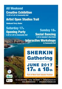 Sherkin Island Gathering Festival June 17th and 18th
